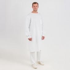 Халат Хирург бязь отбеленная ГОСТ 60-62 рост 182-188