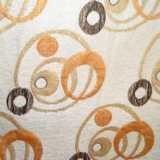 Ткань на отрез гобелен 150 см 09-3 Круги