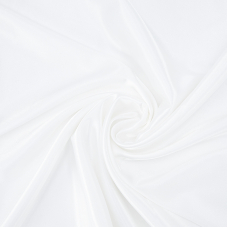 Ткань на отрез креп-сатин 1960 цвет молочный