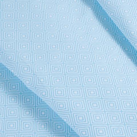 Маломеры бязь плательная 150 см 1753/2 цвет голубой 1 м