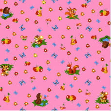 Бязь 120 гр/м2  детская 150 см 1231/2 цвет розовый