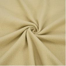 Ткань на отрез флис цвет Бежевый