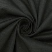 Ткань на отрез пике цвет черный