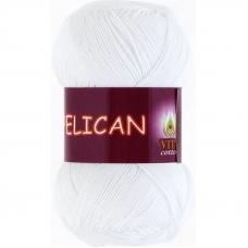 Pelican 3951 100% хлопок двойной мерсеризации 50гр 330м (Индия) цвет белый