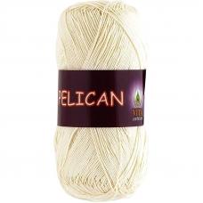 Pelican 3993 100% хлопок двойной мерсеризации 50гр 330м (Индия) цвет молочный