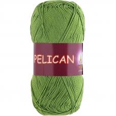 Pelican 3995 100% хлопок двойной мерсеризации 50гр 330м (Индия) цвет молод.зелень