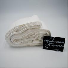 Весовой лоскут Страйп сатин отбеленный 1,8 / 0,08 (+/-2 см) м по 1 кг
