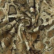 Ткань на отрез кулирка R7127-V2 Змея