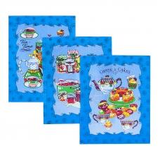 Набор вафельных полотенец 3 шт 50/60 см 383 вид 2