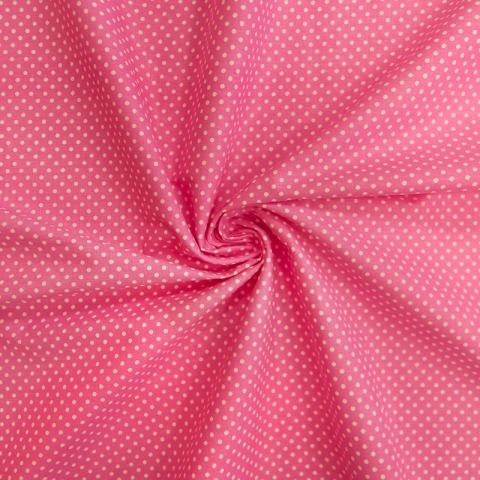 Маломеры бязь плательная 150 см 1554/1 цвет розовый 1 м