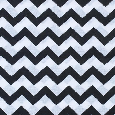 Маломеры бязь плательная 150 см 1692 цвет черный 0.9 м