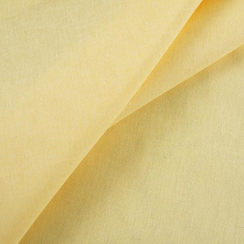 Ткань на отрез бязь гладкокрашеная ГОСТ 150 см цвет желтый активное крашение