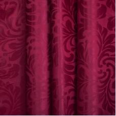 Портьерная ткань 150 см на отрез 2С391 цвет 14 малина