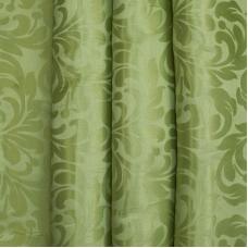 Портьерная ткань 150 см на отрез 2С391 цвет 6 зеленый