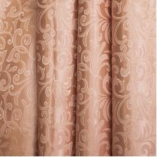Портьерная ткань 150 см на отрез 100/2С цвет 32 т/бежевый