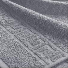Полотенце махровое Туркменистан 50/90 см цвет Серый