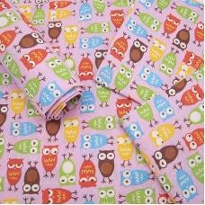 Набор детских пеленок поплин 4 шт 73/120 см 1799/1 цвет розовый