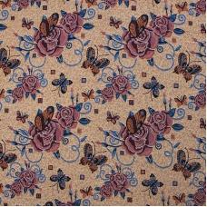 Ткань на отрез гобелен 155 см С67/4 1729