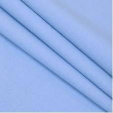 Ткань на отрез Тик гладкокрашеный 80 см арт 126 Тейково голубой