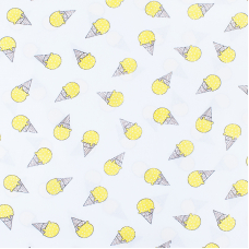 Маломеры бязь плательная 150 см 1812/8 цвет желтый 2 м