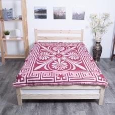 Одеяло п/ш жаккардовое 500 гр/м2 цвет бордо 150/200 см