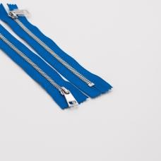 Молния металл №5СТ никель н/р 18см D115 ярко синий