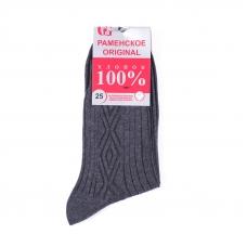 Мужские носки Р-200 Раменские цвет темно-серый размер 25