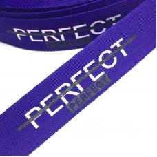 Тесьма фиолетовая PERFECT 2,5см 1 метр уп 10 м
