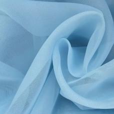 Вуаль 280 см цвет 17 голубой