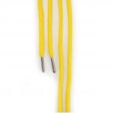 Шнур круглый желтый 110см уп 2 шт