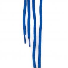 Шнур круглый синий 110см уп 2 шт