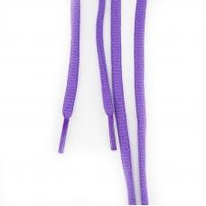 Шнур круглый фиолетовый 110см уп 2 шт