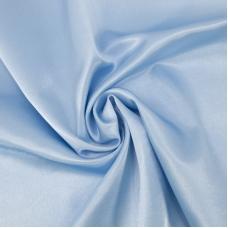 Ткань на отрез креп-сатин 1960 цвет светло-голубой