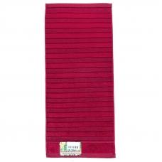 Полотенце махровое Sunvim 12В-2 34/76 см цвет бордовый