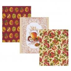 Набор вафельных полотенец 3 шт 45/60 см 11517/1 Русские традиции