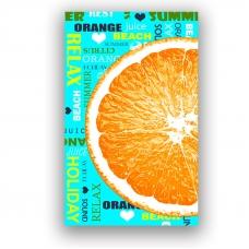 Полотенце вафельное пляжное 3082-1 Санрайз 150/75 см