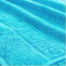 Полотенце махровое Туркменистан 50/90 см цвет Бирюзовый