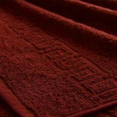 Полотенце махровое Туркменистан 40/65 см цвет Винный