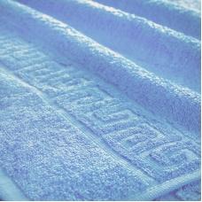 Полотенце махровое Туркменистан 50/90 см цвет Голубой