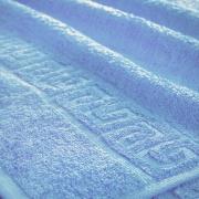 Полотенце махровое Туркменистан 70/135 см цвет Голубой