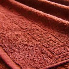 Полотенце махровое Туркменистан 50/90 см цвет жареный орех