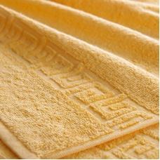 Полотенце махровое Туркменистан 40/65 см цвет Желтый