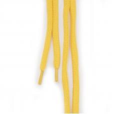 Шнур плоский желтый 120см уп 2 шт