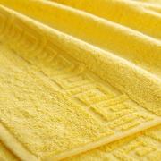 Полотенце махровое Туркменистан 50/90 см цвет лимон DANDELION SARY