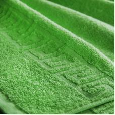 Полотенце махровое Туркменистан 50/90 см цвет молодая зелень PARADISE GREEN