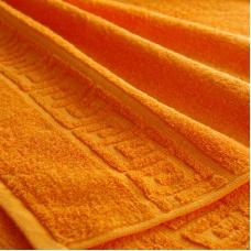 Полотенце махровое Туркменистан 40/65 см цвет Оранжевый