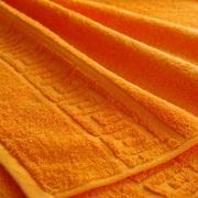 Полотенце махровое Туркменистан 50/90 см цвет Оранжевый