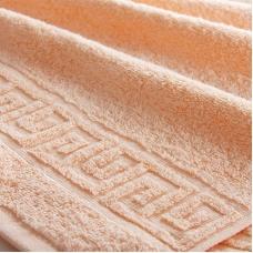 Полотенце махровое Туркменистан 40/65 см цвет Персиковый