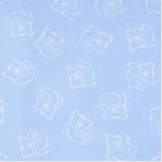 Поплин 150 см 393/3 цвет голубой