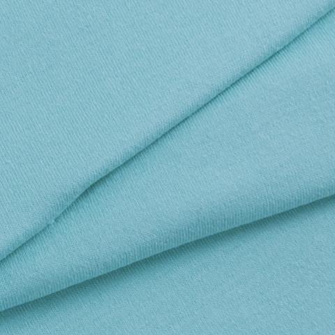 Мерный лоскут кулирка гладкокрашеная 2068 цвет ментол 50/98х2 см